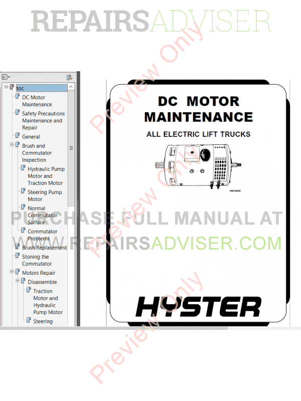 Hyster Class 3 For D215 Electric Motor Hand Trucks PDF