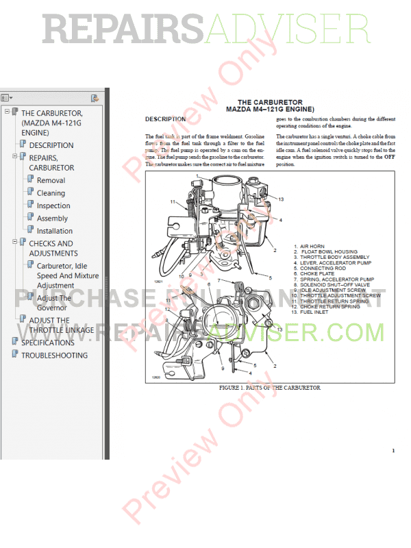 Hyster Class 4 For B010 Europe Internal Combustion Engine