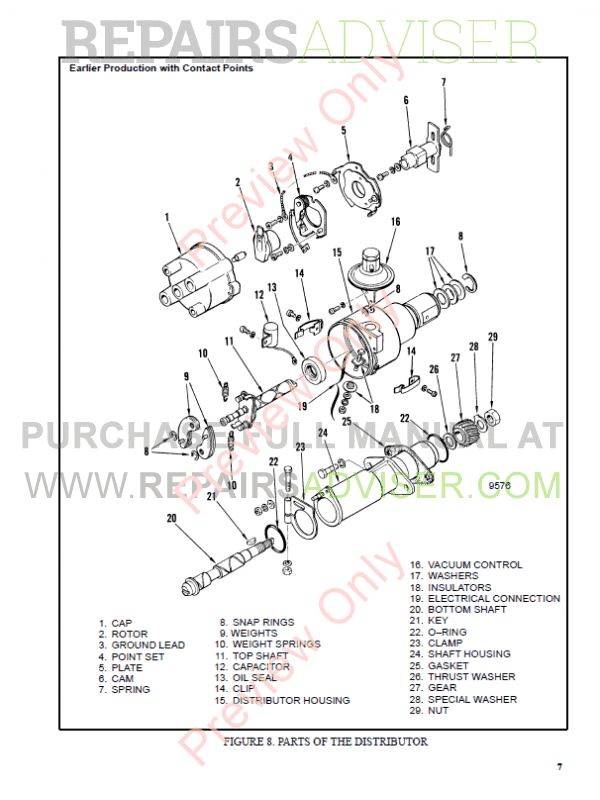 Hyster Class 4 For B010 Internal Combustion Engine Trucks
