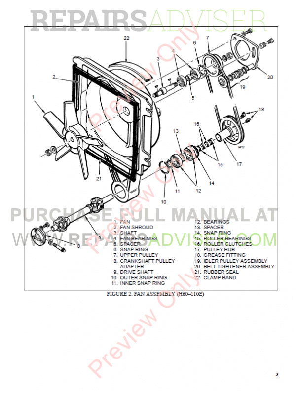 Hyster Class 4 For C004 Europe Internal Combustion Engine