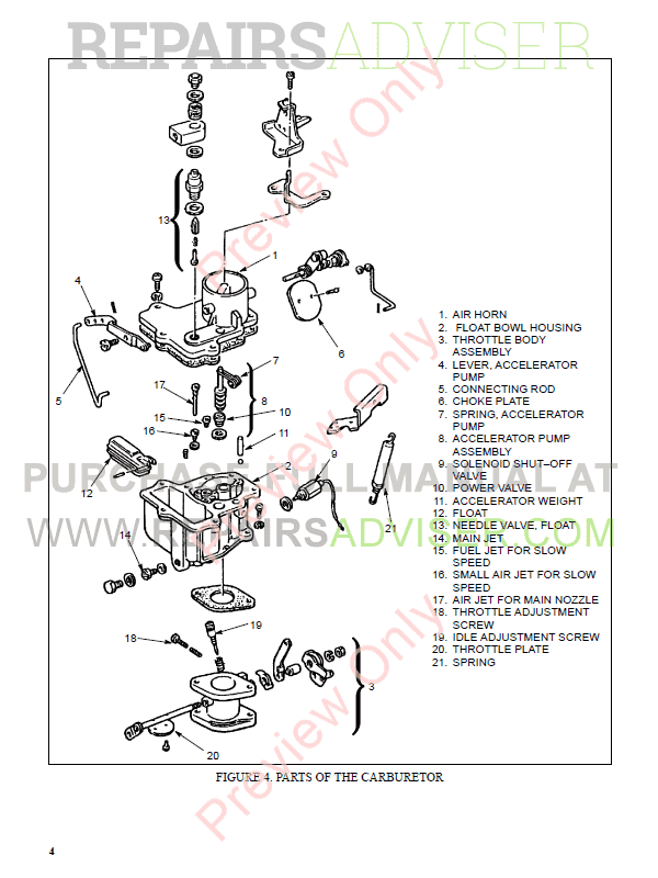 Hyster Class 4 For C187 Internal Combustion Engine Trucks