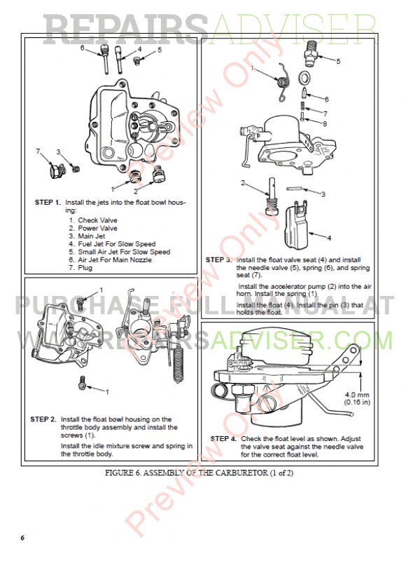Hyster Class 5 For C001 Europe Internal Combustion Engine