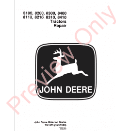 Download John Deere 8430 8630 Tractors TM-1143 PDF