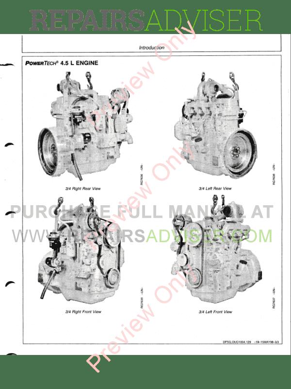 John Deere PowerTech 4.5L, 6.8L & 4045, 6068 Diesel