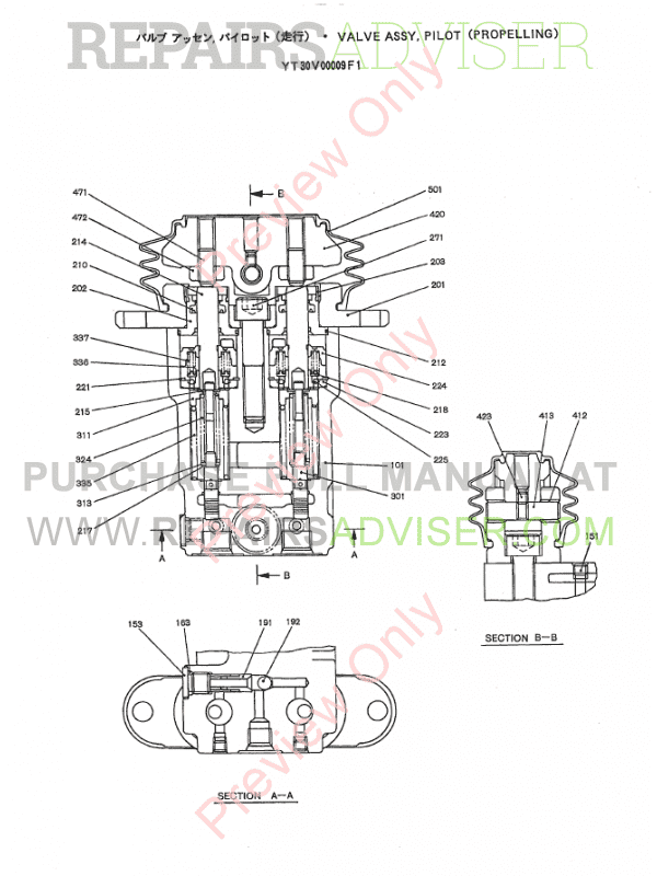 Kobelco SK70SR Excavators, Isuzu Engine A-4JB1 PDF Parts