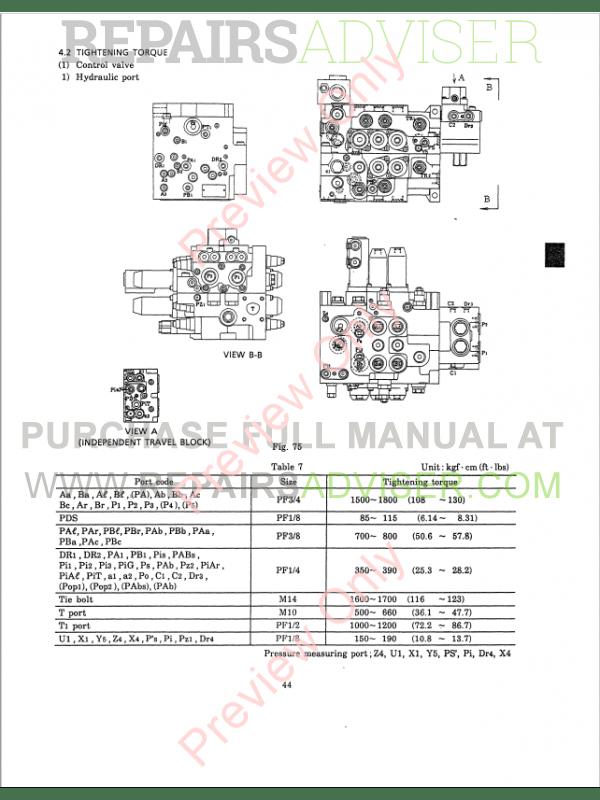 Kobelco SK150LC III Excavator Shop Manual Download