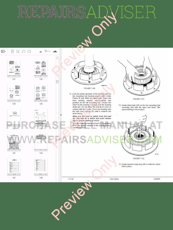 Komatsu Dump Truck 830E-AC Set of PDF Manuals Download