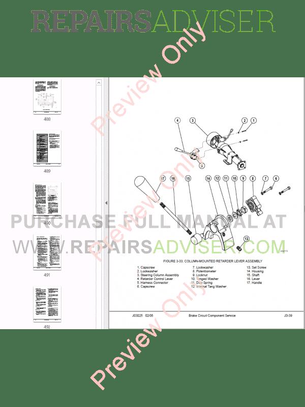 Komatsu Dump Truck 930E-2 Set of PDF Manuals Download