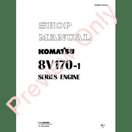 Komatsu Components of Engine Shop Manual PDF Download