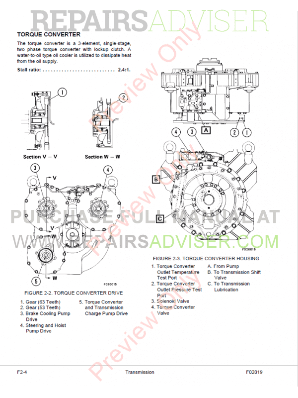 Komatsu HD785-5LC Dump Truck Set of PDF Manuals Download