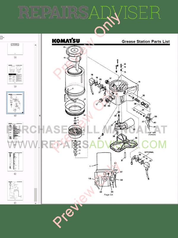 Komatsu Hydraulic Breaker JPB1200 Operation and