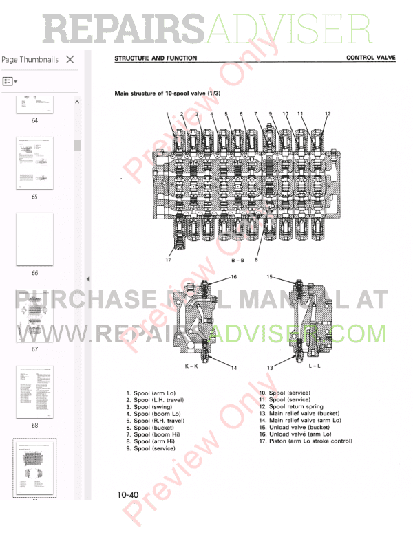 Komatsu Hydraulic Excavator PC340 Shop Manual PDF