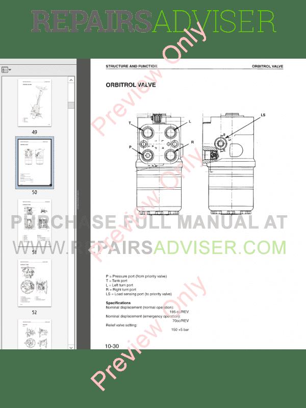 Komatsu PW130ES-6K Hydraulic Excavator Shop Manual PDF