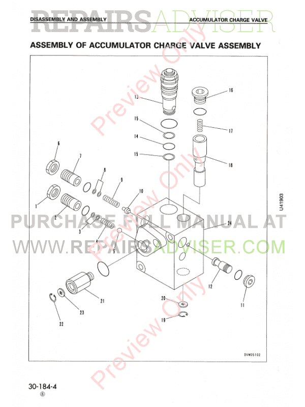 Komatsu WA320-3 Wheel Loader Shop Manual PDF Download