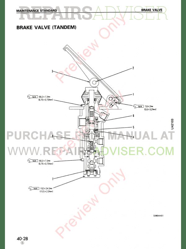 Komatsu WA470-3 Wheel Loader Shop Manuals PDF Download