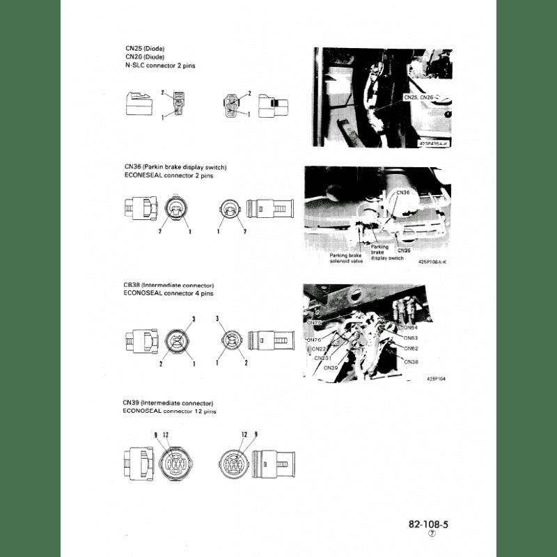 Komatsu WA500-1 Wheel Loader Shop Manuals PDF Download