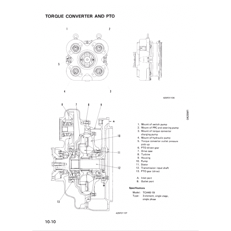 Komatsu WA500-1 Wheel Loader Shop Manuals PDF Download
