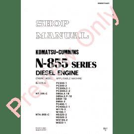 Komatsu WA180-1 Wheel Loader Shop Manual PDF Download
