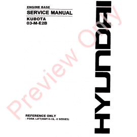 Download Kubota Service & Repair Publications in PDF