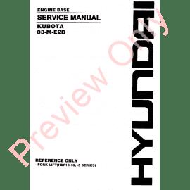 Kubota 03-CR-E4 Series Diesel Engines Workshop Manual