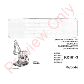 Kubota D722-EB-KOOI-1 Illustrated Parts List PDF Download