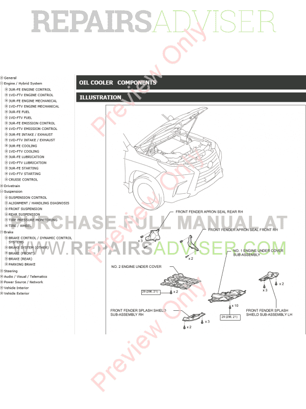 Lexus LX450D LX570 PDF Manual (09.2015) Download