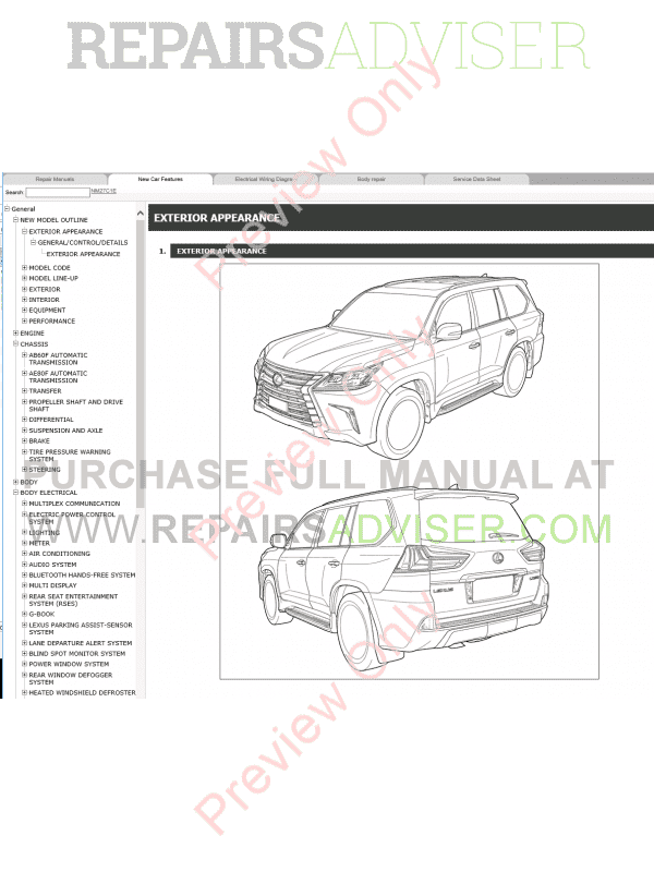Service manual [Download Car Manuals Pdf Free 2000 Lexus