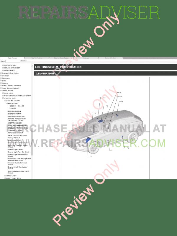 Lexus RX200t RX350 PDF Manual 09-2015 Download
