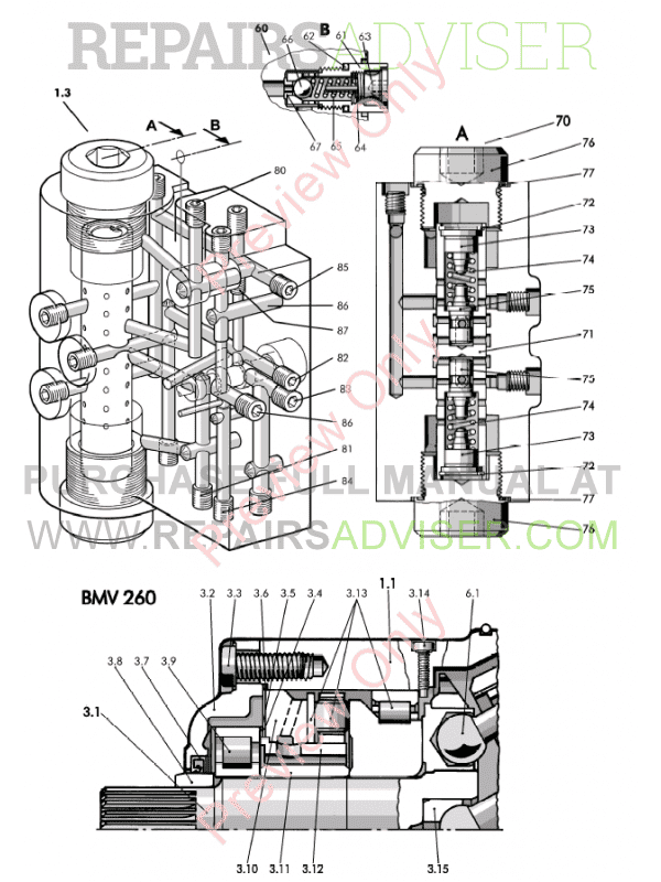 Liebherr LR 622-632 Crawler Loaders PDF Service Manual