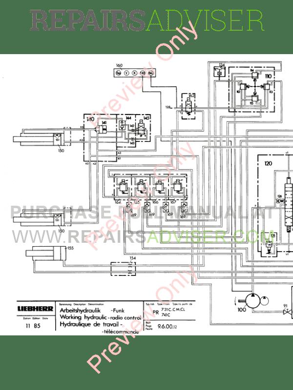 Liebherr LR611-641 Crawler Loaders PDF Service Manual Download