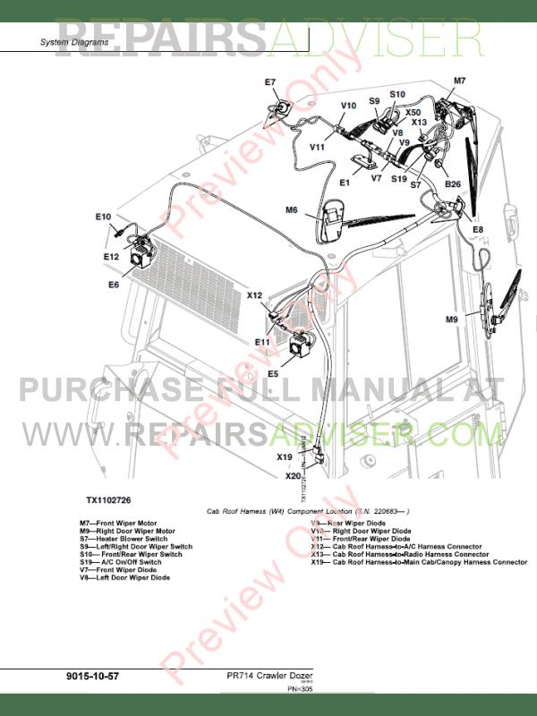 Liebherr PR714 (4 series) Crawler Dozer Service Manual PDF
