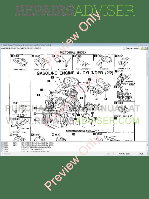 Mazda Electronic Parts Catalog OEM Europe LHD EPC2 02/2018