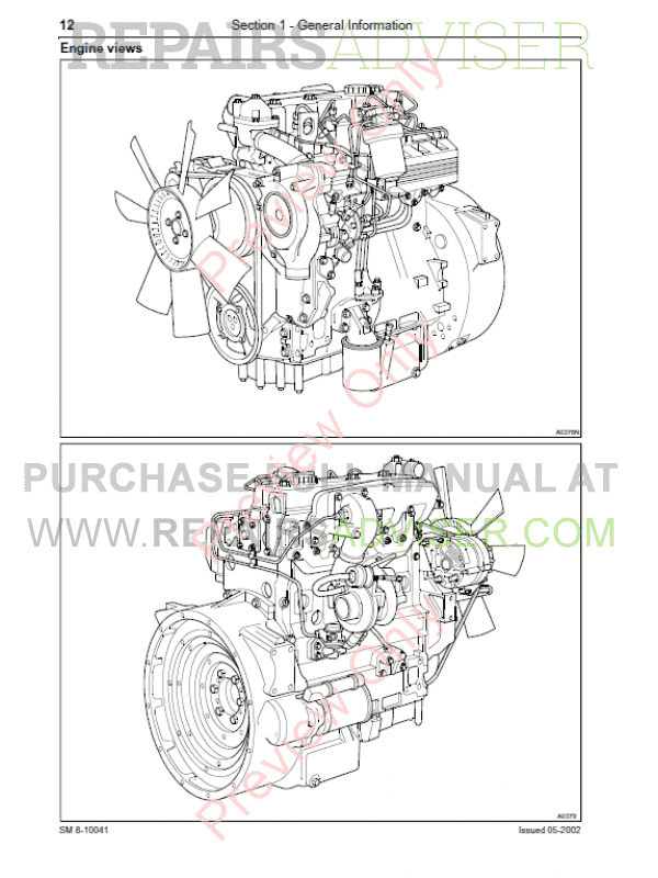 McCormick Tractors CX75 CX85 CX95 CX105 Repair Manual PDF