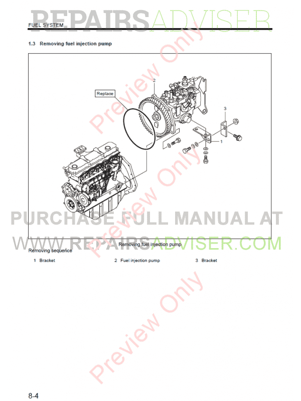 Mitsubishi Diesel Engines S6S-Y3T61/62HF for Hyundai