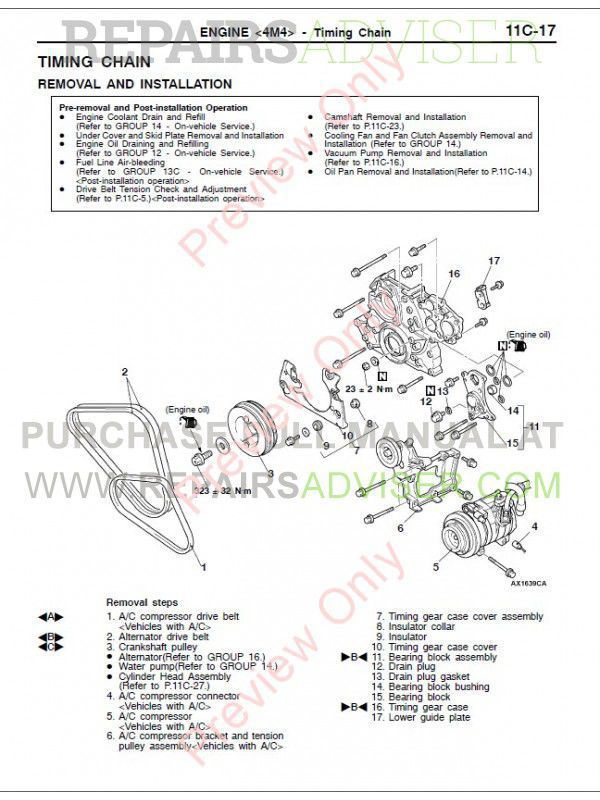 Mitsubishi Pajero Montero Workshop Manual PDF