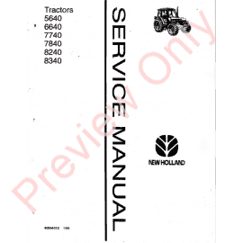 New Holland T5.95 T5.105 T5.115 Tractor Service Manual PDF