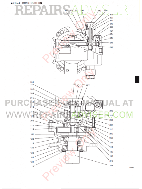 New Holland E18SR Hydraulic Excavators Repair Manual PDF