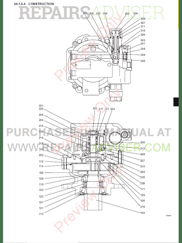 New Holland E18SR Hydraulic Excavators Repair Manual PDF