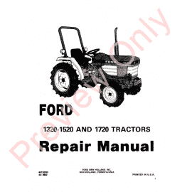 New Holland 455C 555C 655C Tractor Loader Backhoe Repair