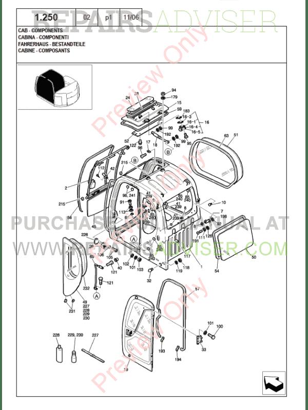 New Holland Kobelco E80MSR Crawler Excavator Parts Catalog