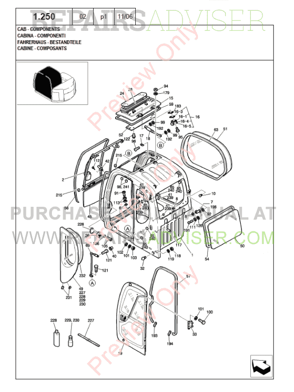 New Holland Kobelco E80MSR Crawler Excavator Parts Catalog