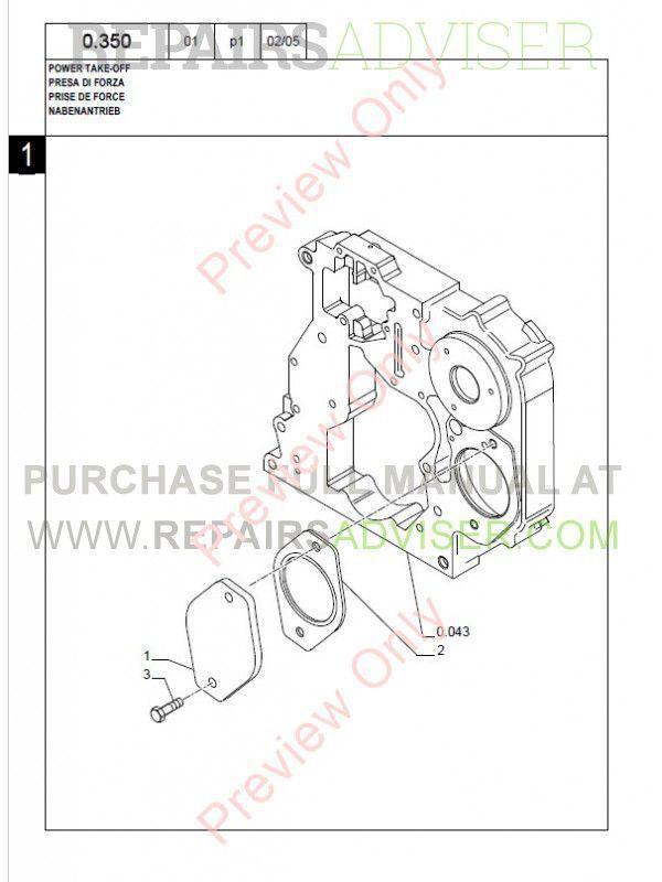 New Holland Kobelco LB95.B Backhoe Loader Parts Catalog