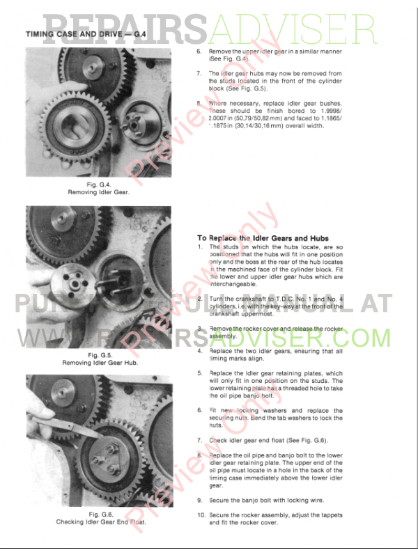 New Holland Perkins Diesel Engine 4.2032 Service Manual