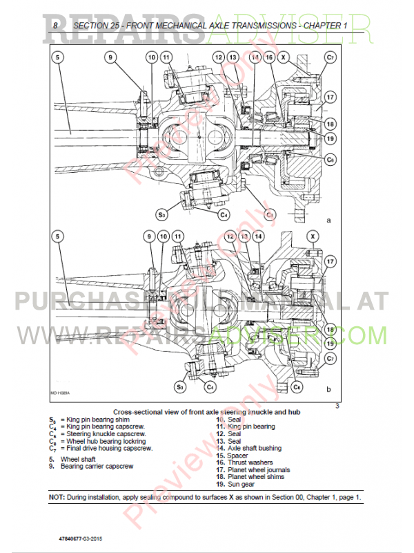 New Holland TD3.50 Tractor Service Manual PDF Download