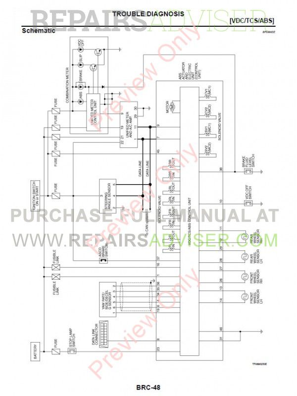Nissan Teana Model J31 Series 2004-2006 Electronic Service