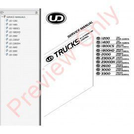 Trucks (also called Lorry) Repair and Service Manuals