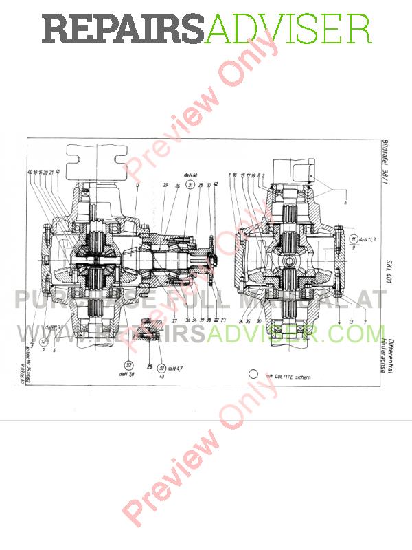 TEREX SKL 401 Wheel Loader PDF Parts Catalog Download