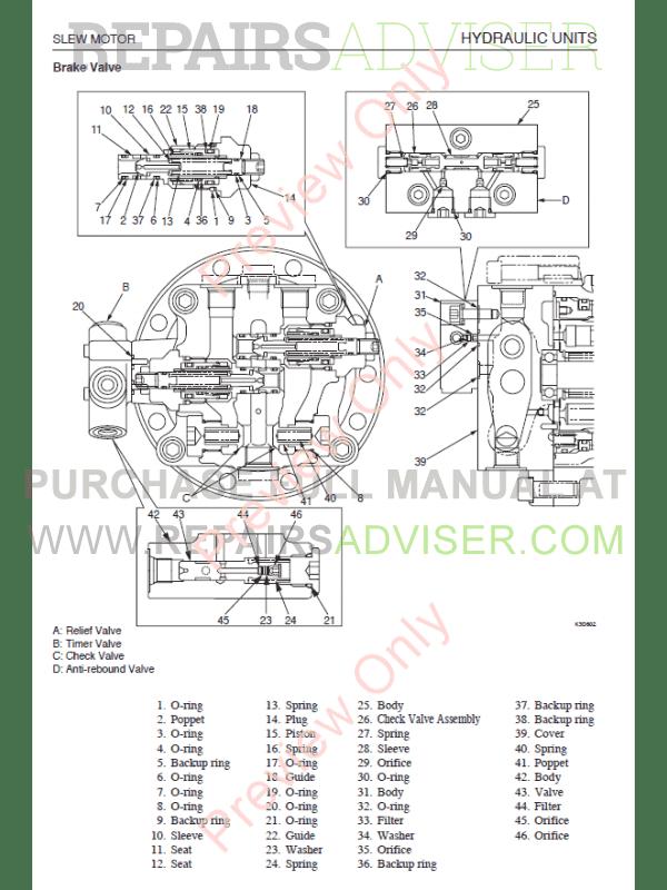 Takeuchi TB153FR Compact Excavator Set of PDF Manuals Download