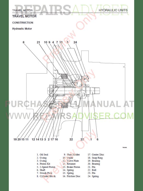 Takeuchi TL140 Clawler Loader Workshop Manual PDF Download