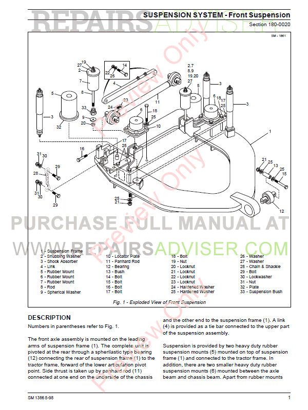 Terex 3566 and 4066C Articulated Dumptruck PDF Service Manual